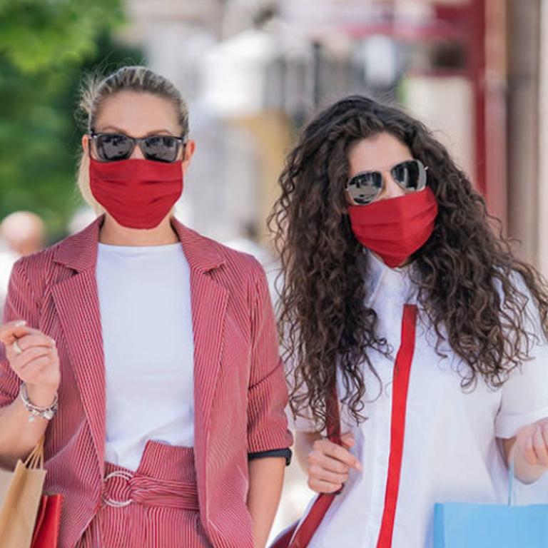 Masks Create Sweat Maskne