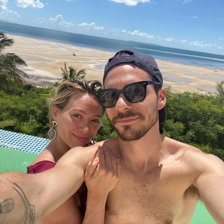 Hilary Duff and Mathew Koma