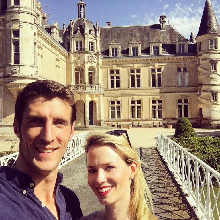 Couple Renovates French Chateau