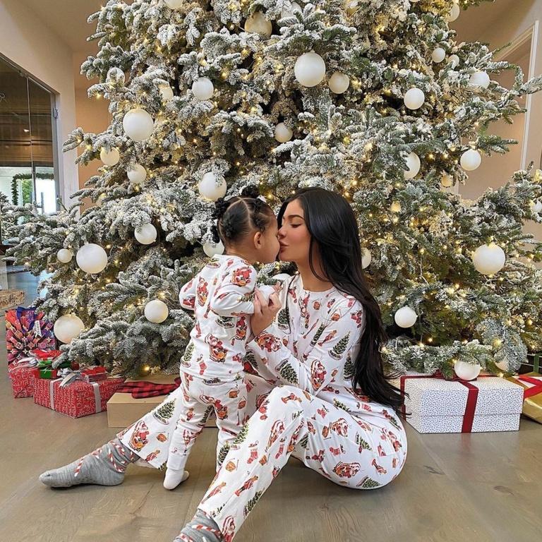 Kylie Jenner Christmas Spirit