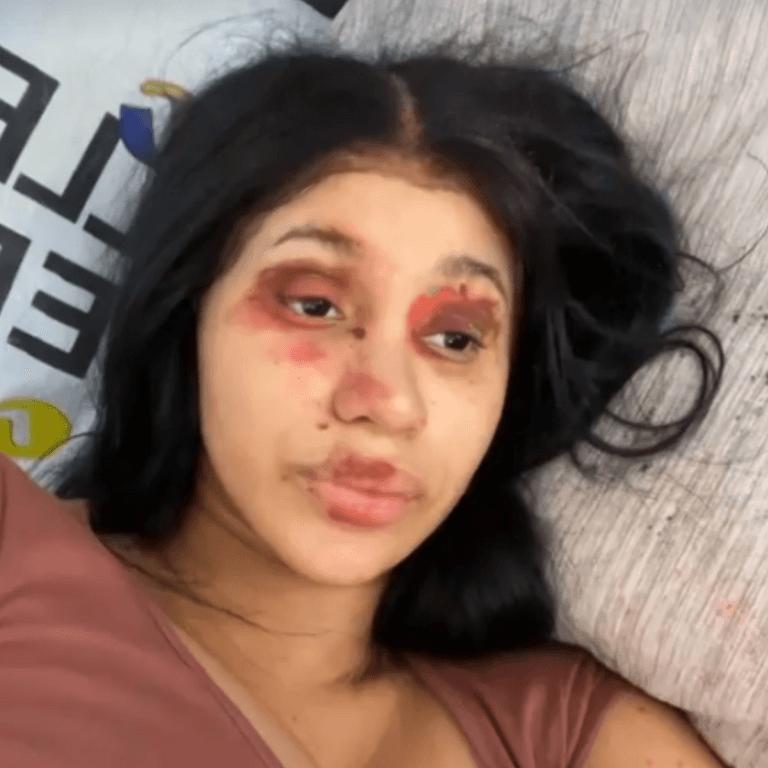 Cardi B Kulture Makeup