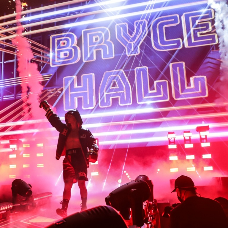 Bryce Hall Boxing Tweets