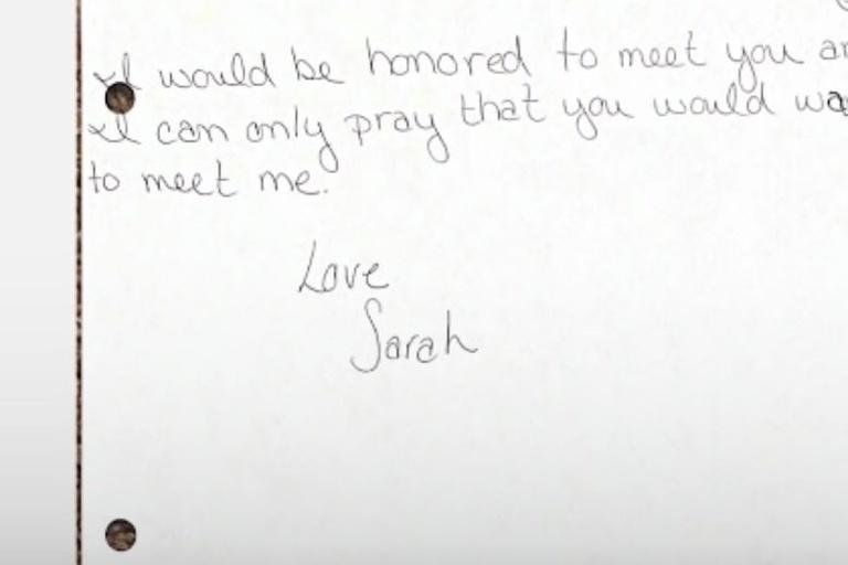 histoire vraie, Sarah Culberson