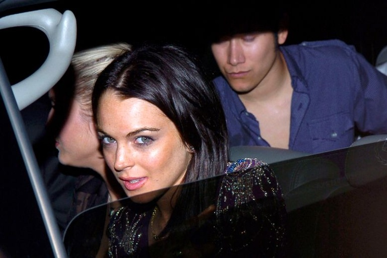 Lindsay Lohan rise fall